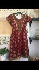 3pc Indian Dress Anarkali Readymade Women's ethnic size 8