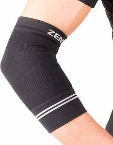 Zensah Unisex 179370 Compression Tennis Elbow Sleeve Black Size M