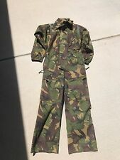 VINTAGE ORIGINAL  CAMOUFLAGE MILITARY OVERALL'S