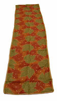 Fall Leaves Tapestry Table Runner 13x72in NEW 100% Polyester by Melrose Int
