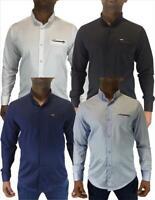 Herren Hemd Stretch Langarm Freizeithemd Shirt Premium Qualität Baumwolle