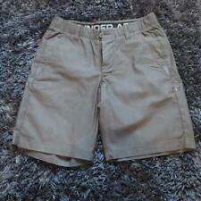 GENUINE - Mens Grey Under Armour Trouser Smart Shorts - Size 30 W