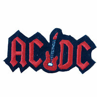 ACDC Embroidered Rock Band Iron On or Sew On Patch UK SELLER Patches