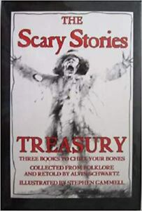 The Scary Stories Treasury: Three Books to Chill Your Bones (Collected from Folk