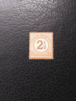 Germany #27 MLH, 1874 2 1/2gr Surcharge, Scott Catalog Value $ 37.50