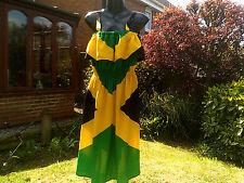 Funky FATTO a MANO Giamaica Bandiera Nazionale colore Abito Taglia...... regolare