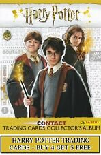 Panini Harry Potter Contact Trading Cards - choose your card #1 - #140