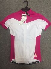 Specialized SL Expert Cycling Jersey Womens White/Fuchsia M - BRAND NEW RRP £70