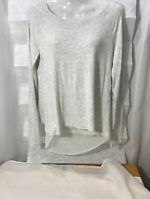 Aeropostale women's clothing blouse size S/P color beige Long sleeve