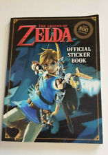 The Legend of Zelda Official Sticker Book (Nintendo) Over 800 Stickers - NEW