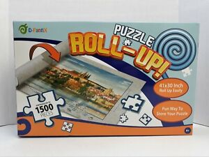 "D-Fantix Jigsaw Puzzle Roll Up Mat Fits Up To 1500 PC Puzzle 41"" X 30"" Mat 209"