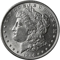 1884-P Morgan Silver Dollar Brilliant Uncirculated - BU