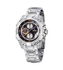 Runde polierte Festina Armbanduhren für Herren