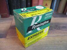 REMINGTON EXPRESS SHOT GUN SHELL BOX LOADS empty 12 GAUGE ORIGINAL