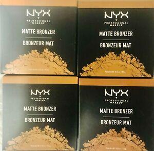 NYX Professional Makeup MATTE BRONZER 0.33 oz-M12