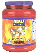 Now Foods Sports EGGWHITE Protein Rich Chocolate 1.5 lbs Egg White