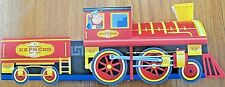 6 ~ Train Engine Cardboard Kids Food Box Tray  Table Center  Party Planner Favor