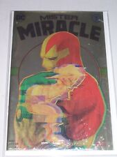 Mister Miracle #7! (2017) Rare Polybagged Con Foil Variant! VF!!