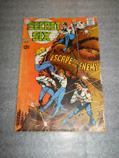 DC COMICS SECRET SIX #4 NOVEMBER 1968 FINE CONDITION