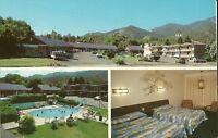 "Manitou Springs CO  ""The Silver Saddle Motel""  Postcard Colorado * FREE US SHIP"