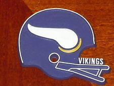 MINNESOTA VIKINGS Vintage Old NFL RUBBER Football FRIDGE MAGNET Standings Board