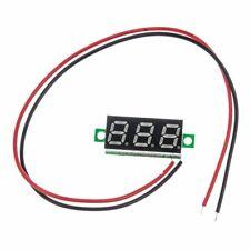 """Mini 0.28"""" Dc Digital Voltmeter Panel Mount Led Voltage Volt meter Red 2.5~30V"""