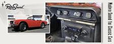 für TRIUMPH TR5 1967-68  RetroSound Oldtimer Auto Radio USB Bluetooth AUX-in UKW