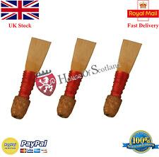 Bombard Chanter Spanish Cane Reeds/Bombard Pipe Chanter Reeds 3 Pcs/Oboe Talabar