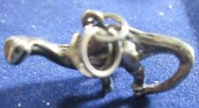 Vintage Sterling Silver Brontosaurus Charm