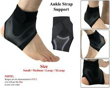 Elastic Ankle Brace Support Adjustable For Foot Pain Wrap Sleeve Bandage Sports