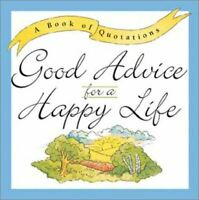 Ariel Books, Good Advice for a Happy Life, Like New, Hardcover