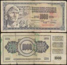 YUGOSLAVIA/JUGOSLAVIA 1000 DINARA 12/8/1978