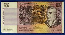 AUSTRALIA 5 Dollars Signature Knight and Wheeler #B1225