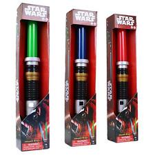 STAR WARS EXTENDING LIGHTSABER + LIGHTS AND SOUND FX - LIGHT SABER ***NEW*** UK
