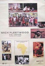 Fleetwood Mac 1981 The Visitor Original Promo Poster Mick Fleetwood