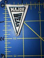 Major Wear Pennant Patch MW Tag Sportswear