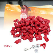 6mm Retail Security Stop Lock Ask For Help Anti Sweep Display Anti Theft Hook