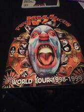"Kiss Original Psycho Circus Tour Program auto graph1998-1999 11""x14"" Music  C90H"