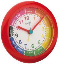 Adora Réveil pour enfants Rouge lernziffernblatt Rond 29013