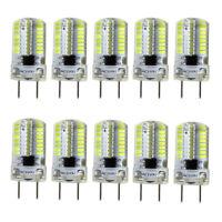 10pcs G8 Bi-Pin T5 Lights 64 3014 LED Light Bulb Dimmable Lamp White 6500K/120V