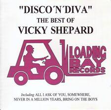 Disco 'N' Diva CD  The Best Of Vicki Shepard  Loading Bay HiNRG - *NEW SEALED!*