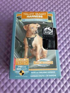 Kurgo Tru-Fit Smart Auto and Walking Dog Harness Seatbelt Small 10 to 25 lb dog