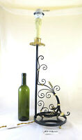 Table Lamp Desk Lampshade Vintage Wrought Iron For Living Room CH31