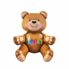 Decoration Baby Shower 3d Bear Foil Balloon Inflatable Party Decor