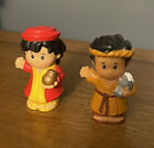 Little People Fisher Price Nativity Wise Man (6/14) And Shepherd (6/14)