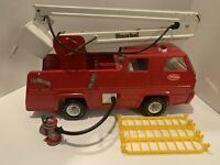 Vintage Tonka Snorkel Pumper Fire Truck w/ Hydrant & Hose Ladders See Pictures