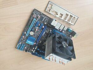 PC Mainboard mit Prozessor und Lüfter