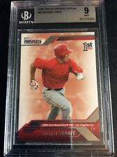 2009 Tristar Mike Trout #20 Baseball Card BGS Graded 9