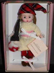 """MADAME ALEXANDER GNOME FOR THE HOLIDAYS 8"""" DOLL 76390"""