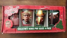 A Christmas Story Collector'S Series Pint Glass 4-Pack New In Package